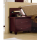 ESF Furniture Miss Italia 2 Drawer Nightstand in Matte