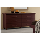 ESF Furniture Miss Italia Double Dresser in Matte