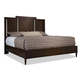 Durham Furniture Dunns Valley Queen Panel Bed in Husk 142-125H