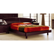 ESF Furniture Miss Italia King Europa Drop Wood Platform Bed in Matte