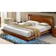 ESF Furniture Sky King Bed in Walnut