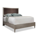 Durham Furniture Dunns Valley King Upholstered Panel Bed in Shale 142-144S