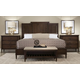 Durham Furniture Dunns Valley Panel Bedroom Set