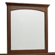 Standard Furniture Cooperstown Youth Mirror in Sheen Spiced Cherry 93818