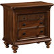 Broyhill Cascade 3 Drawer Nightstand in Arid Brown 4940-293
