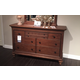 Broyhill Cascade 7 Drawer Dresser in Arid Brown 4940-230
