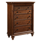 Broyhill Cascade 5 Drawer Chest in Arid Brown 4940-240