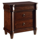 Broyhill Aryell 3 Drawer Nightstand in Autumn Cherry 4906-293