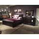 Broyhill Aryell 4-Piece Panel Bedroom Set in Autumn Cherry