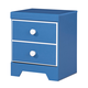 Bronilly One Drawer Night Stand in Blue B045-91