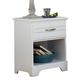 Carolina Furniture Platinum Nightstand in White 512100