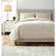 Stitched King Comforter Set in Natural Q485003K