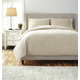 Stitched Queen Comforter Set in Natural Q485003Q