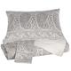Paisley Queen Duvet Set in Gray Q490003Q