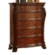Meridian Luxor 5 Drawer Chest in Cherry