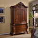 Meridian Luxor Armoire in Cherry