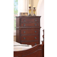 Meridian Manor 5 Drawer Chest in Cherry