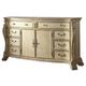 Meridian Monaco 8 Drawer Dresser in White