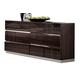 Global Furniture Tribeca Dresser in Wood Grain