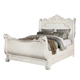 Meridian Riviera King Sleigh Bed in Antique White
