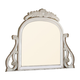 Meridian Riviera Mirror in Antique White