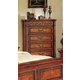 Meridian Royal 5 Drawer Chest in Cherry