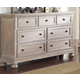 New Classic Furniture Allegra Dresser in Pewter B2159-050