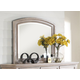 New Classic Furniture Allegra Mirror in Pewter B2159-060