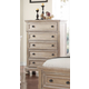 New Classic Furniture Allegra Chest in Pewter B2159-070
