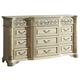Meridian Sienna 12 Drawer Dresser in White