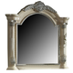 Meridian Sienna Mirror in White