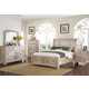 New Classic Furniture Allegra Bedroom Set in Pewter B2159-SET