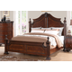 New Classic Furniture Elsa Eastern King Bed in Mahogany