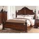 New Classic Furniture Elsa California King Bed in Mahogany