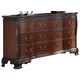 New Classic Furniture Elsa Dresser in Mahogany B1404-050