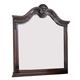 New Classic Furniture Elsa Mirror in Mahogany B1404-060