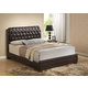 Global Furniture 8119 Queen PU Bed in Brown