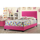 Global Furniture 8103 Full PU Bed in Pink