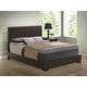 Global Furniture 8103 King PU Bed in Brown