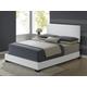 Global Furniture 8103 King PU Bed in White