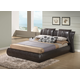 Global Furniture 8269 Queen PU Bed in Brown