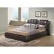 Global Furniture 8269 King PU Bed in Brown