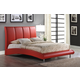 Global Furniture 8272 Queen PU Bed in Red