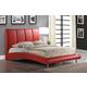 Global Furniture 8272 Queen PU Bed in Red