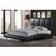 Global Furniture 8272 Queen PU Bed in Black