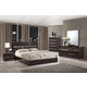 Global Furniture Tribeca Bedroom Set in Wood Grain