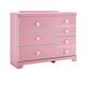 Bronett Dresser in Pink B044-21
