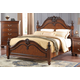 New Classic Furniture Jaquelyn Eastern King Bed in Heritage Cherry