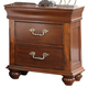 New Classic Furniture Jaquelyn Nightstand in Heritage Cherry B8651-040