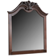 New Classic Furniture Jaquelyn Mirror in Heritage Cherry B8651-060